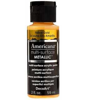 ACRÍLICO AMERICANA MULTI SURFACE METALLIC 59 ML