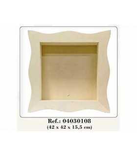 Estantería vitrina 42x42x15 cm Dayka Trade
