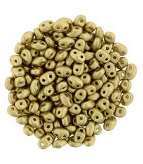 MINI DUO MATT METALLIC FLAX 2x4 MM 10 GR