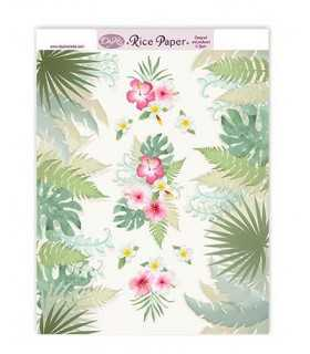 PAPEL ARROZ DAYKA RICE130 224x294 MM TROPIC 1 UD