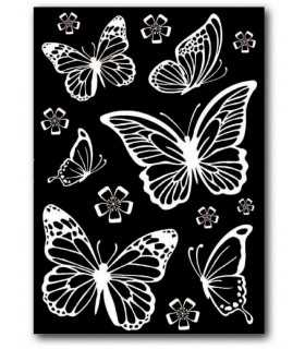 RUB-ON DECO TRANSFER STAMPERIA MARIPOSAS A5