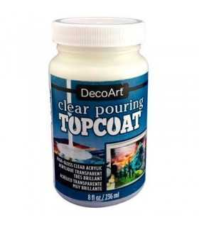 CLEAR POURING TOPCOAT ACRÍLICO TRANSPARENTE 236ML.