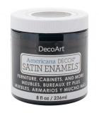 AMERICANA DECOR SATIN ENAMELS 236 ML : AMERICANA DECOR SATIN ENAMELS:ADSA01 NEGRO CLÁSICO