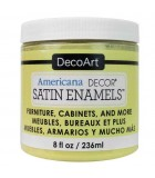 AMERICANA DECOR SATIN ENAMELS 236 ML : AMERICANA DECOR SATIN ENAMELS:ADSA07 MANTEQUILLA