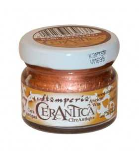 CERANTICA CERA ANTIGUA COBRE METAL STAMPERIA 20 ML