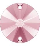 CABUCHÓN REDONDO SWAROVSKI DOS AGUJ. 10 mm 2 Ud : color:Light Rose
