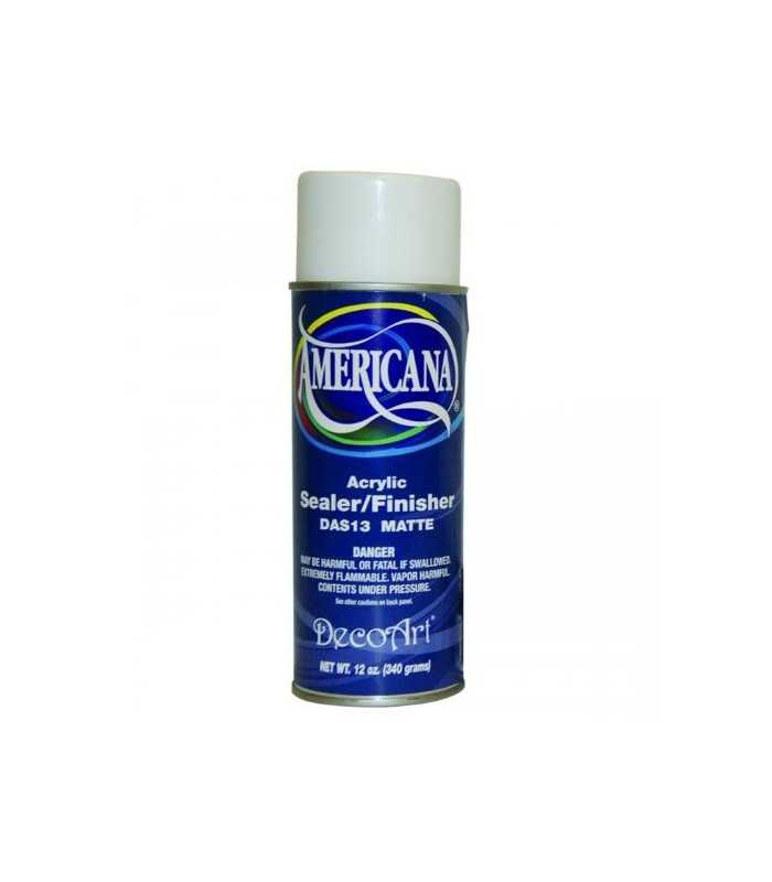 BARNIZ EN SPRAY MATE AMERICANA DECOART 400 ML