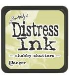 TAMPÓN DISTRESS INK TIM HOLTZ RANGER INK 2x2 pulg : DISTREES INK:21490 SHABBY SHUTTER