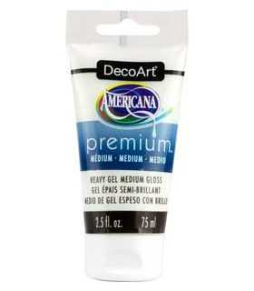 AMERICANA PREMIUM MEDIO GEL ESPESO BRILLO 75 ML