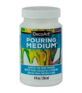 POURING MEDIUM DECOART PARA PINTURA FLUIDA 236ML.