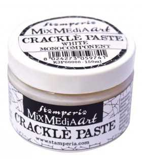 CRACKLE PASTE BLANCO STAMP.  MONOCOMPONENT 150 ML