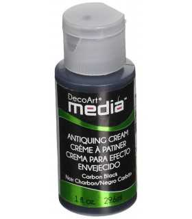 DECOART MEDIA CREMA ENVEJECIDO NEGRO CARBÓN 29 ML
