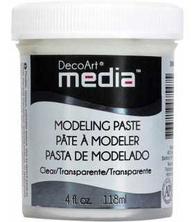 DECOART MEDIA PASTA MODELADORA TRANSPARENTE 118 ML