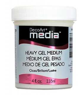 DECOART MEDIA MEDIO DE GEL PESADO  118 ML