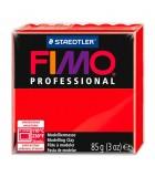 FIMO PROFESSIONAL STAEDTLER PASTILLA DE 85 GRAMOS : FIMO PROFESIONAL:200 ROJO REAL