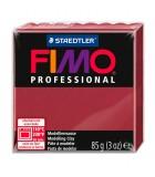 FIMO PROFESSIONAL STAEDTLER PASTILLA DE 85 GRAMOS : FIMO PROFESIONAL:23 ROJO BURDEOS
