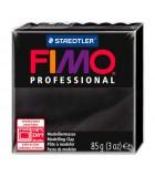 FIMO PROFESSIONAL STAEDTLER PASTILLA DE 85 GRAMOS : FIMO PROFESIONAL:9 NEGRO