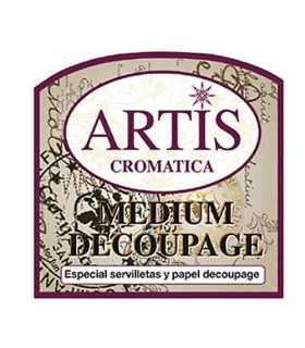 MEDIUM DECOUPAGE ARTIS CROMÁTICA 60 ML