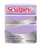 SCULPEY III COLORES NUEVOS PASTILLA 56 GRAMOS : Unidades:1 unidad, color:1216 Lila primavera