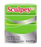 SCULPEY III COLORES NUEVOS PASTILLA 56 GRAMOS : Unidades:1 unidad, color:1629 Verde Manzana