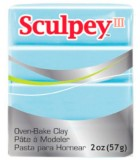 SCULPEY III COLORES NUEVOS PASTILLA 56 GRAMOS : Unidades:1 unidad, color:1144 SKY BLUE