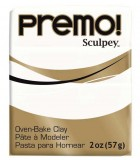 SCULPEY PREMO PASTILLA DE 56 GRAMOS PRIMERA PARTE : color:5001 BLANCO