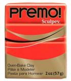 SCULPEY PREMO PASTILLA DE 56 GRAMOS PRIMERA PARTE : color:5382 ROJO CADMIO