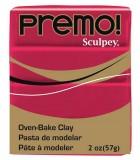 SCULPEY PREMO PASTILLA DE 56 GRAMOS PRIMERA PARTE : color:5383 ALIZARIN CRIMSO