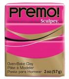 SCULPEY PREMO PASTILLA DE 56 GRAMOS PRIMERA PARTE : color:5504 FUCSIA