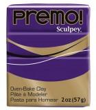 SCULPEY PREMO PASTILLA DE 56 GRAMOS PRIMERA PARTE : color:5513 PÚRPURA