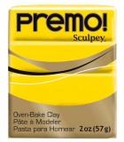 SCULPEY PREMO PASTILLA DE 56 GRAMOS PRIMERA PARTE : color:5572 AMARILLO CADMIO