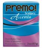 SCULPEY PREMO ACCENTS PASTILLA 57 GR : ACCENTS:5049 BLUE GLITTER