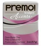 SCULPEY PREMO ACCENTS PASTILLA 57 GR : ACCENTS:5132 WHITE GOLD GLITTER