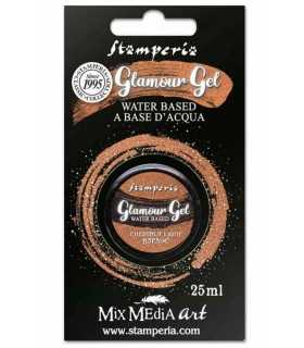 GLAMOUR GEL STAMPERIA CHESTNUT LIGHT 25 ML
