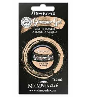 GLAMOUR GEL STAMPERIA GOLD DEW 25 ML