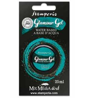 GLAMOUR GEL STAMPERIA STAR BLUE 25 ML