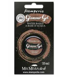 GLAMOUR GEL STAMPERIA DARK WOOD 25 ML