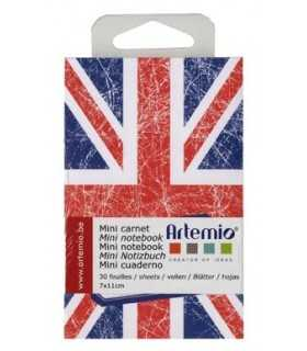 MINI CUADERNO NOTEBOOK ARTEMIO LONDRES 7X11 CM