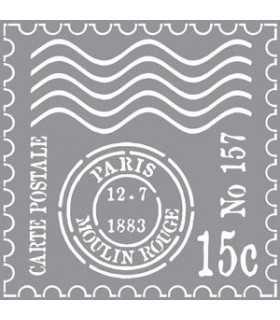 PLANTILLA AMERICANA MATASELLOS PARIS 30x30 CM