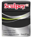 SCULPEY III PASTILLA MODELAR 56GR. PRIMERA PARTE. : Unidades:1 unidad, color:042 Negro