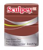 SCULPEY III PASTILLA MODELAR 56GR. PRIMERA PARTE. : Unidades:1 unidad, color:053 Chocolate