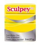 SCULPEY III PASTILLA MODELAR 56GR. PRIMERA PARTE. : Unidades:1 unidad, color:072 Amarillo