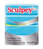 SCULPEY III PASTILLA MODELAR 56GR. PRIMERA PARTE. : Unidades:1 unidad, color:1103 Azul perla clar