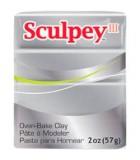 SCULPEY III PASTILLA MODELAR 56GR. PRIMERA PARTE. : Unidades:1 unidad, color:1130 Plata