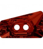 BOTÓN TRAPECIO CRISTAL SWAROVSKI ELEMENTS 17 MM : color:Crystal Red Magma