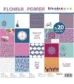 PAPEL SCRAP ARTEMIO FLOWER POWER 30,5x30,5cm 40 UD