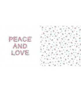 PAPEL SCRAP ARTEMIO PEACE 30,5x30,5cm 1 UD