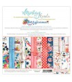 SET PAPEL MINTAY BY KAROLA BERRYLICIOUS 6x6 24 ud