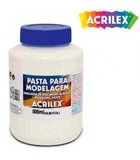 PASTA MODELADO ACRÍLICA ACRILEX 500 ML