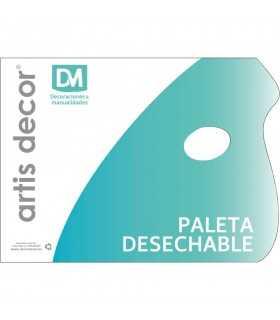 PALETA DE PAPEL DESECHABLE 30x23 CM 40 HOJAS